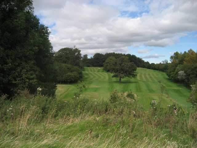 Challenging undulating fairways at Balbirnie Park Golf Club