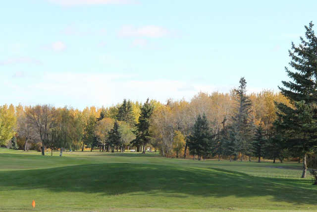 A fall view from Lloydminster Golf and Country Club