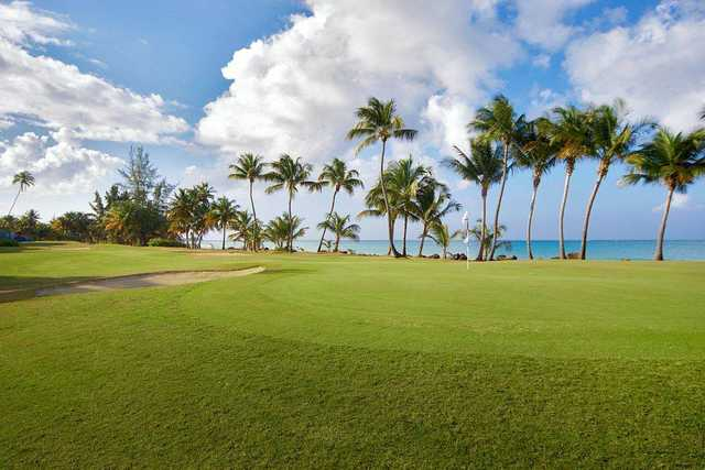 A view of a green at The Wyndham Rio Mar Beach Resort