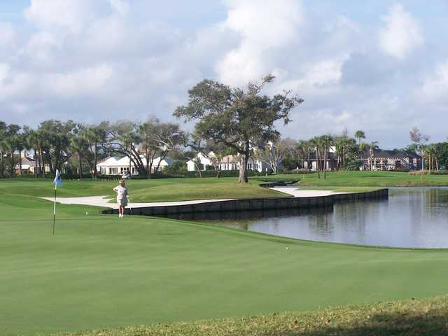 A view of a hole at John's Island Club