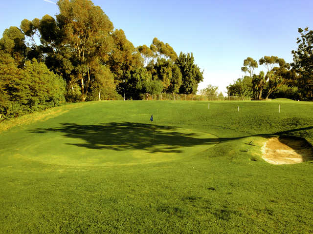 View of the finishing hole at Heroes Golf Course