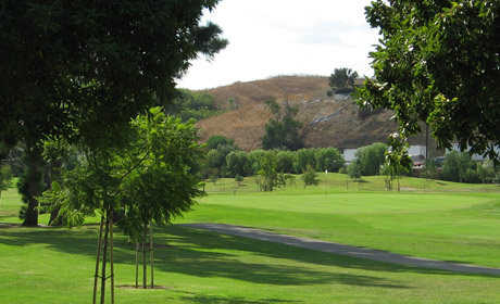 A view from Diamond Bar Golf Course