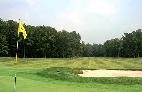 A view from green #6 at Bear Trace from Cumberland Mountain State Park