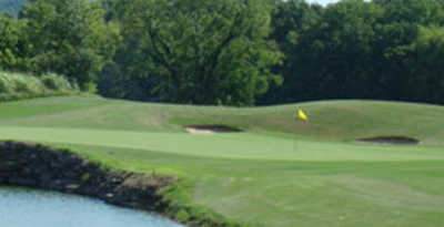 A view of hole #11 from Bear Trace at Ross Creek Landing