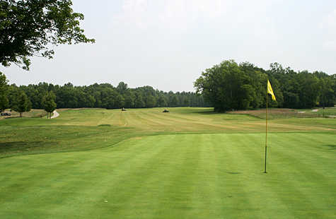 A view of hole #3 at Bear Trace from Tims Ford State Park