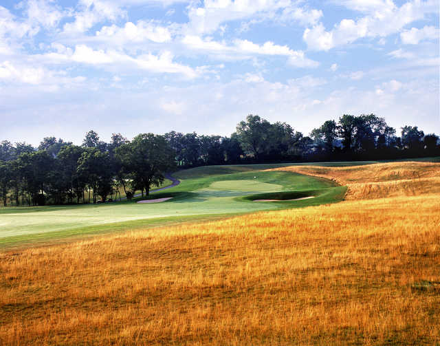 View of the 15th green at The Architects Golf Club