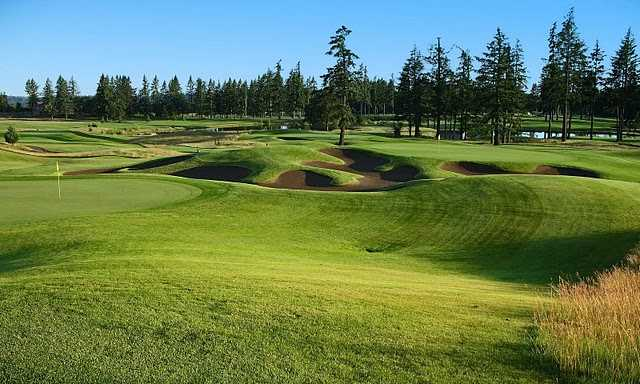 View of the 8th and 9th holes at Stonecreek Golf Club