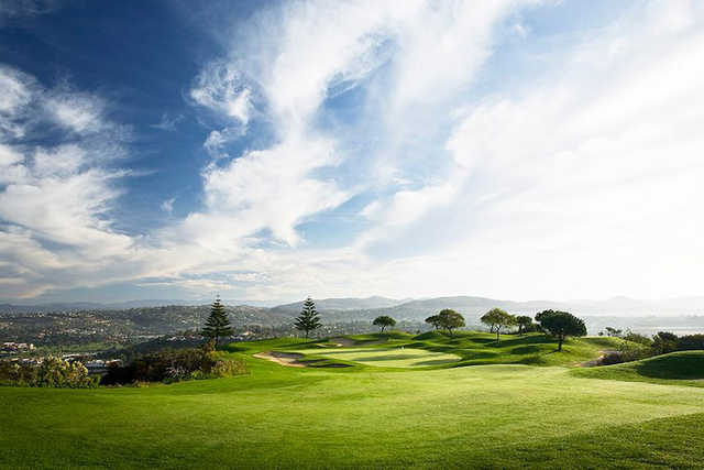 A view from Encinitas Ranch Golf Course