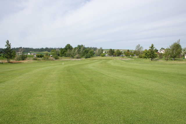 View of a green at Fairways Golf Course