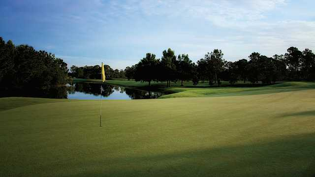 A view from a green at Hammock Creek Golf Club