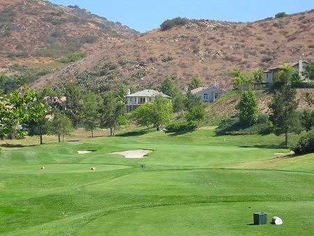 A view of the 7th hole at Eagle Crest Golf Club