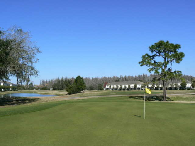 View from a green at Heritage Isles Golf and Country Club