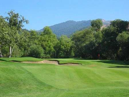 A view of hole #3 at Eagle Crest Golf Club