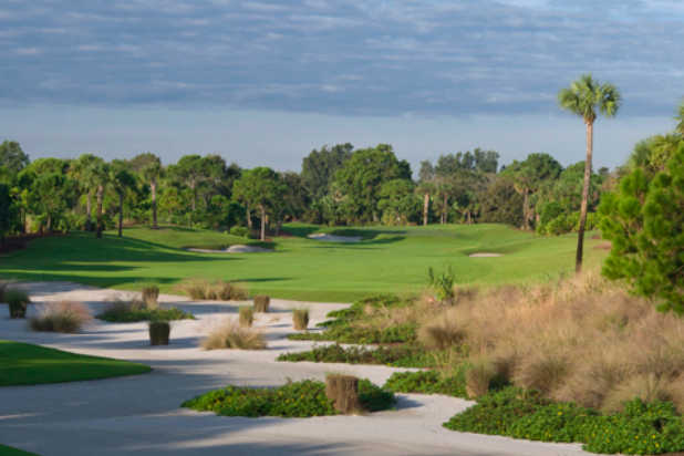 A view of a fairway at Loxahatchee Club