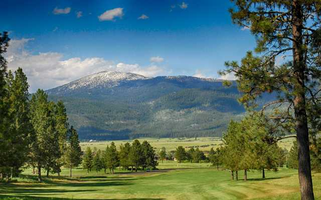 A view from tee #7 at Meadow Creek Golf Resort