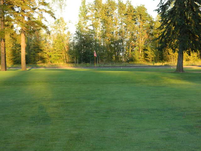 A view of hole #4 from The Elks Golf Course at Sandpoint