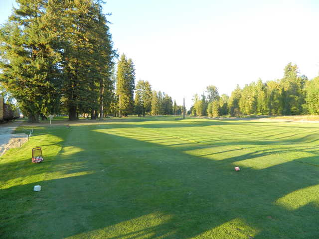 A view from the 7th tee at The Elks Golf Course from Sandpoint