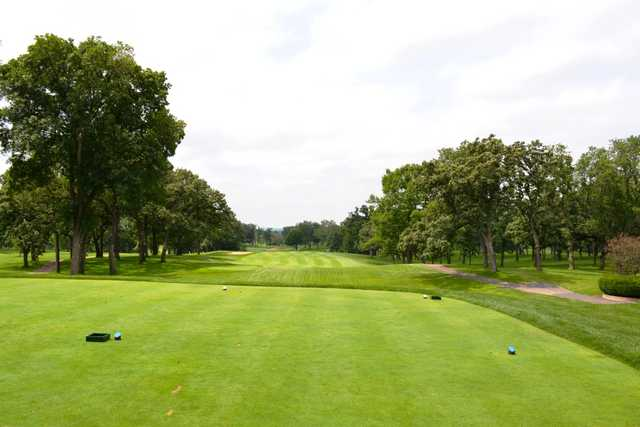 A view from tee #1 at Elgin Country Club