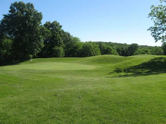 A splendid sunny day view from Indian Springs Golf Club