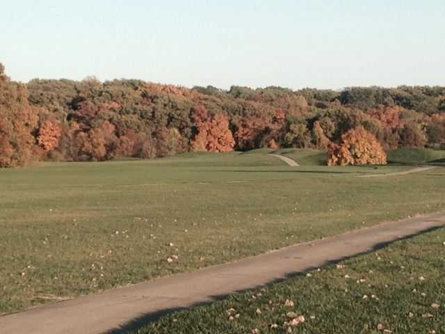 A fall day view from Indian Springs Golf Club