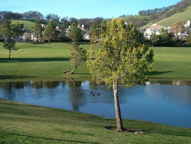 A view from Rancho Solano Golf Course