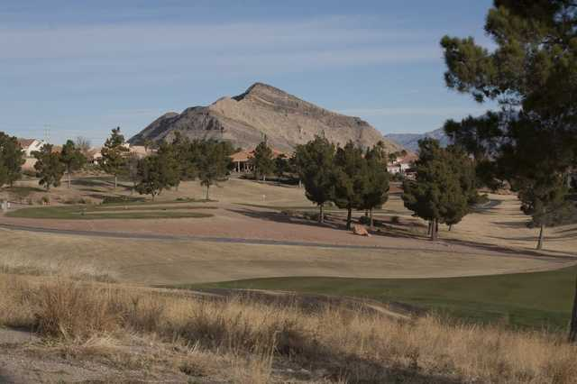 A view from the Eagle Crest Course at Golf Summerlin