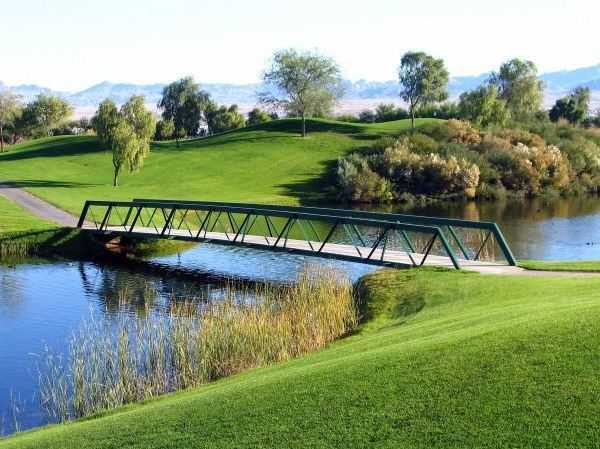 A view from Mojave Resort Golf Club