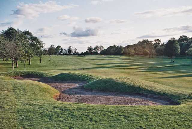 A view of the 11th fairway at Drumpellier Golf Club