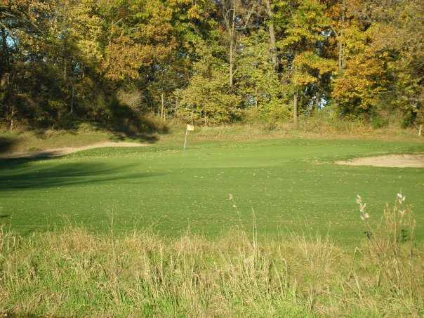 A view of hole #14 at Silver Ridge Golf Club