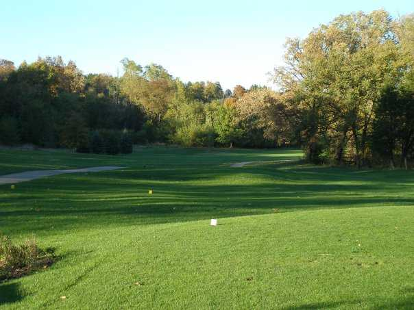 A view from the 12th tee at Silver Ridge Golf Club