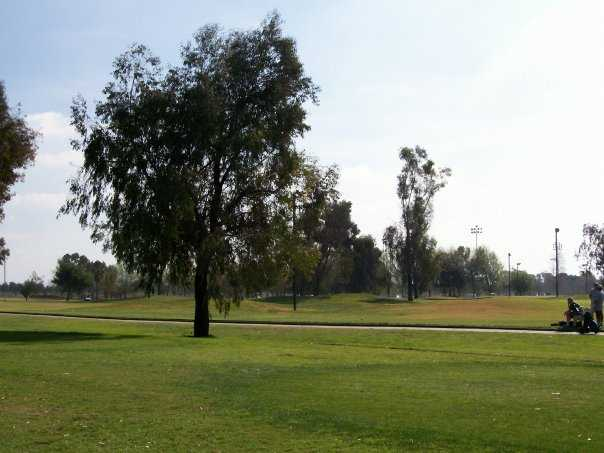 A view from David L. Baker Golf Course.