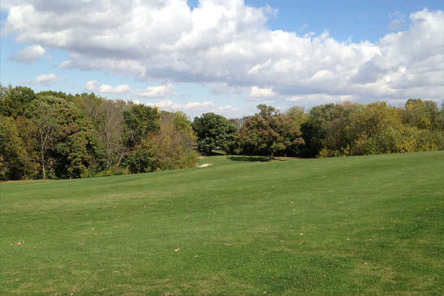 A view from a fairway at South Bluff Country Club