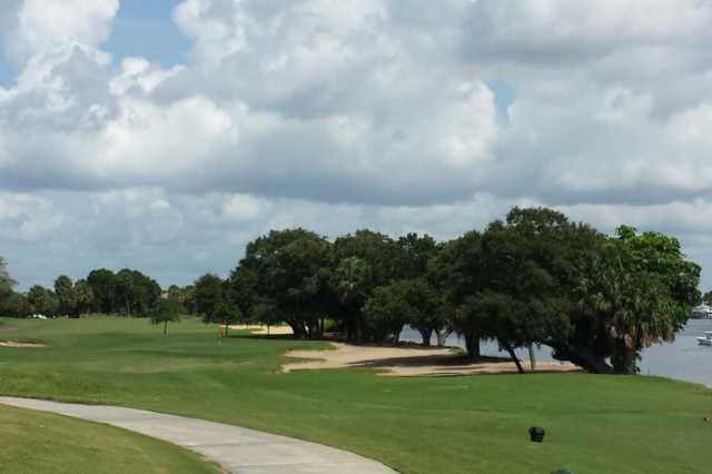 A view from tee #5 at North Palm Beach Country Club