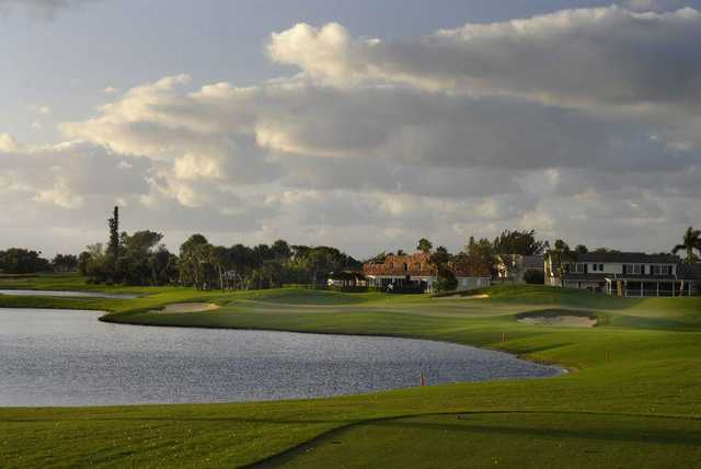 A view of hole #7 at North Palm Beach Country Club