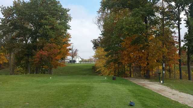 A view from a tee at Pond-A-River Golf Club