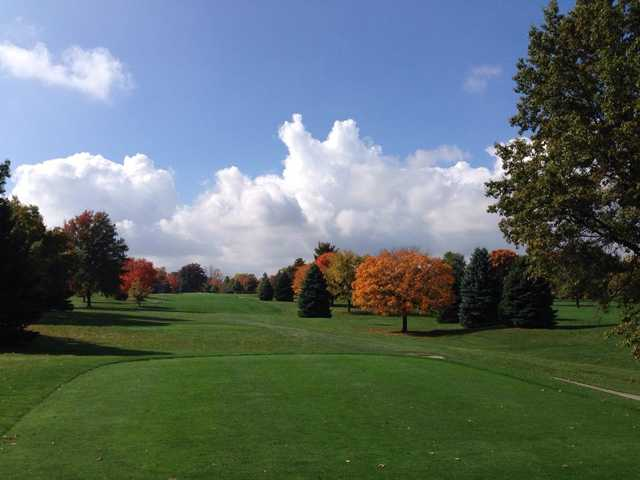 A fall day view from Eel River Golf Course