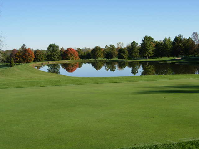 A view of a hole at Walnut Creek from Walnut Creek Golf Course