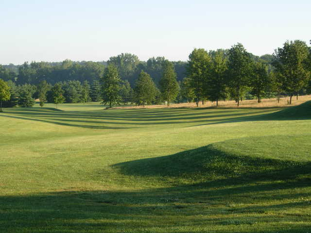 A view of a fairway at Club Run from Walnut Creek Golf Course