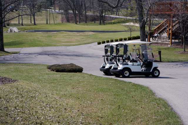 A view of a hole at Hillcrest Country Club