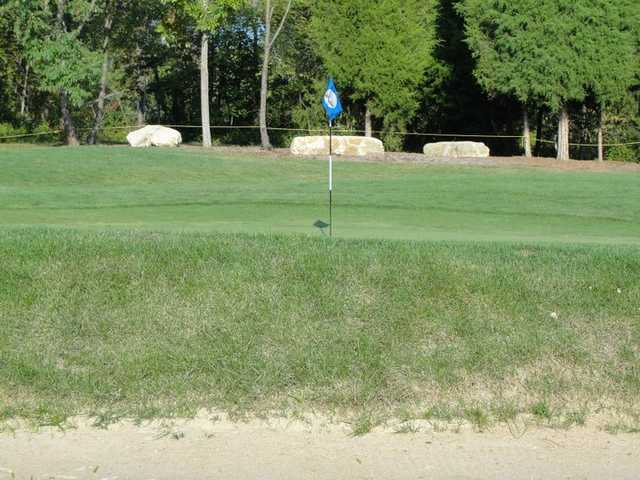 A view of hole #15 at Otis Park Golf Course