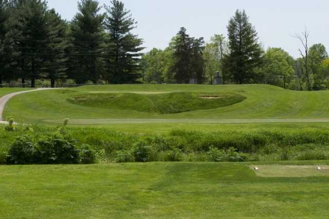 A view from tee #18 at Otis Park Golf Course
