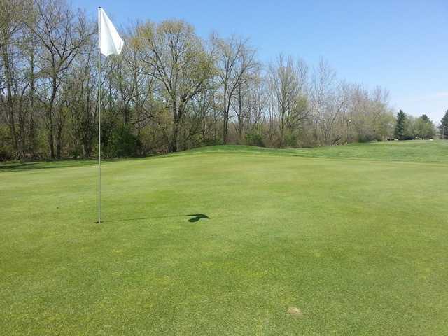 A view of a green at Taylors' Par 3