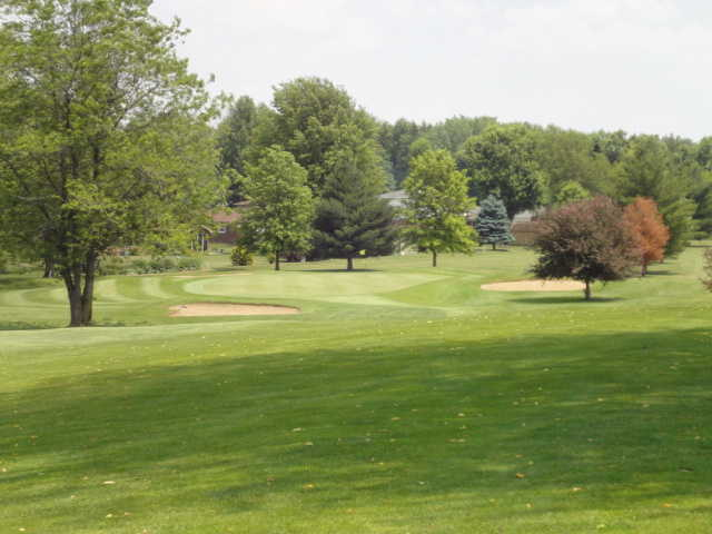 A view of the 12th hole at Crawfordsville Country Club