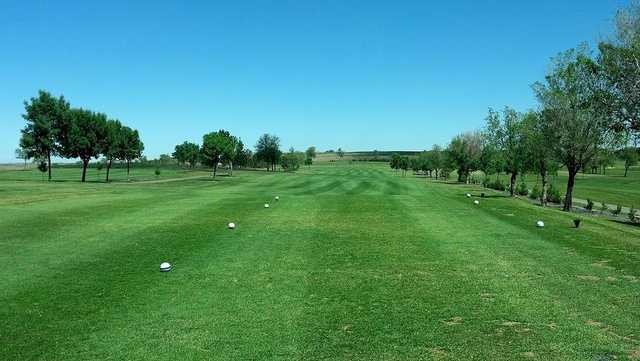View from a tee box at Fox Hills Golf & Country Club
