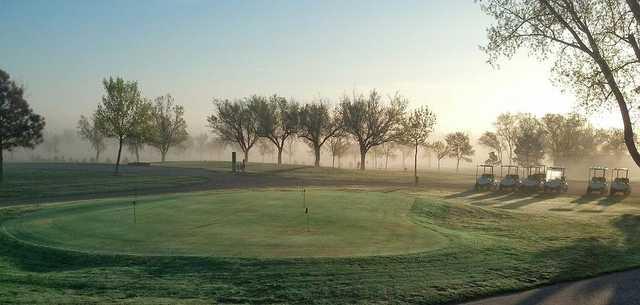 Morning view from Fox Hills Golf & Country Club