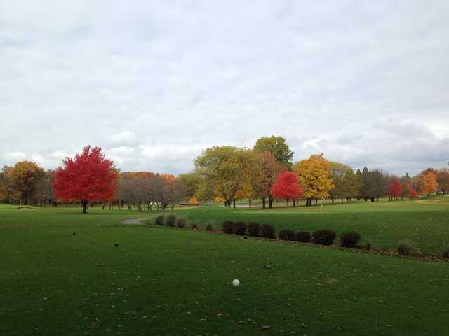A fall day view from Youche Country Club