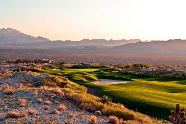 View from Paiute Wolf's 18th fairway