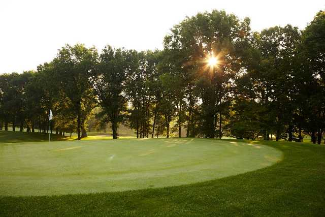 A view of hole #4 at East from Knollwood Country Club (Club Corp Clay Hayner)