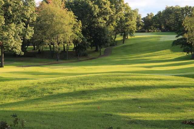 A view from Knollwood Country Club