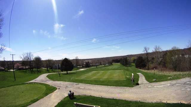 A sunny day view from Windy Hill Country Club